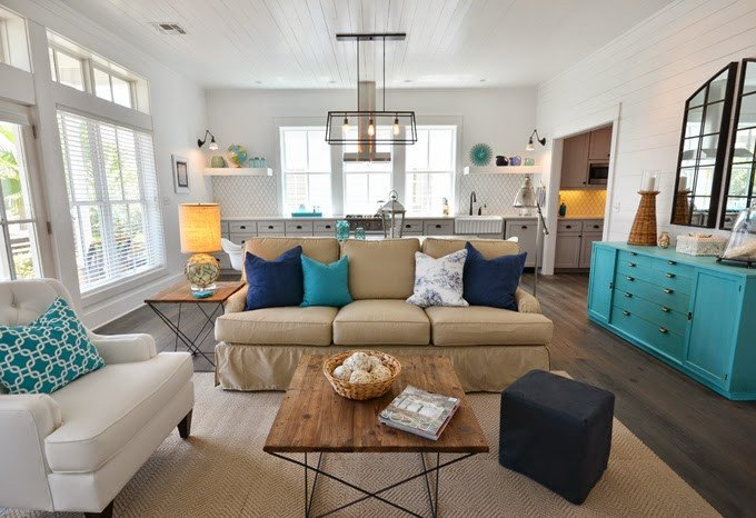 Contemporary Living Room Turquoise Unique Obsessed with Turquoise – Exotic and Refreshing yet soothing and Serene