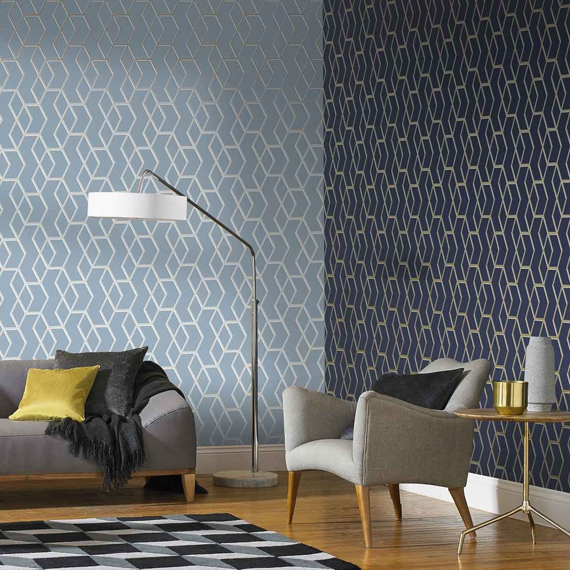 Contemporary Living Room Wallpaper Beautiful Make Your Rooms Pop with these Unique Accent Wall Ideas