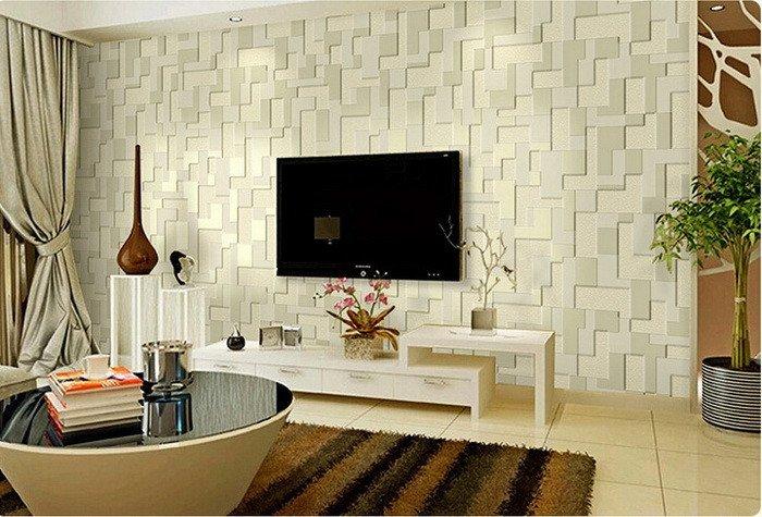 Contemporary Living Room Wallpaper Elegant 3d Wallpaper for Living Room 15 Amazingly Realistic Ideas Home Loof