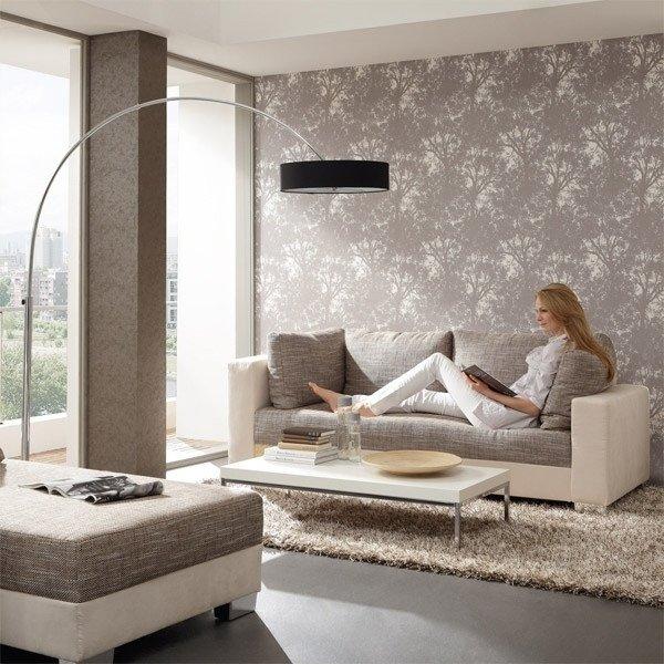 Contemporary Living Room Wallpaper Fresh 15 Living Room Wallpaper Ideas – Types and Styles Of Wallpapers