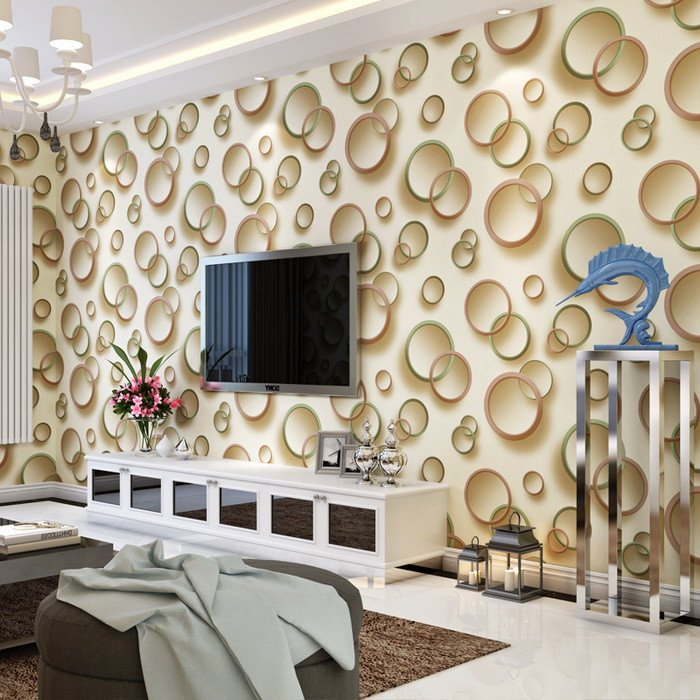 Contemporary Living Room Wallpaper Inspirational 3d Wallpaper for Living Room 15 Amazingly Realistic Ideas Home Loof