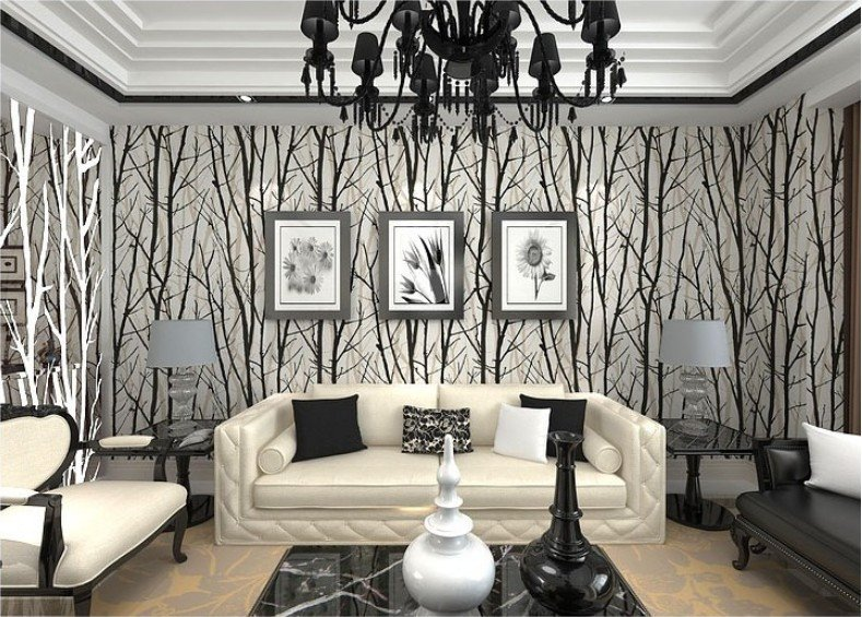Contemporary Living Room Wallpaper Inspirational Wallpapers for Living Room Design Ideas In Uk
