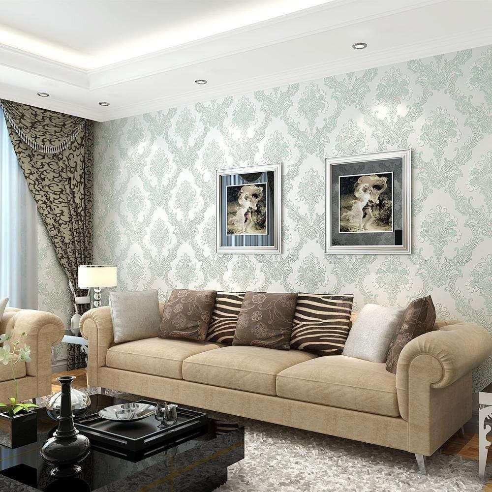 Contemporary Living Room Wallpaper Luxury 48 Qualified Wallpaper and Paint Ideas Living Room Ub E – Blog Teraktual
