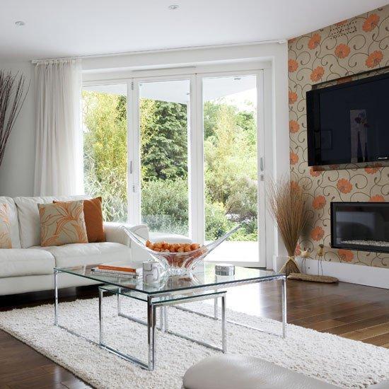 Contemporary Living Room Wallpaper New Living Room Wallpaper