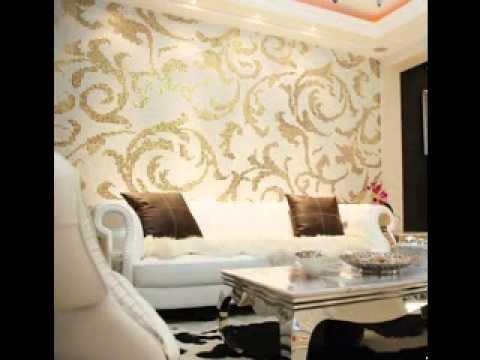 Contemporary Living Room Wallpaper New Modern Wallpaper Design Ideas for Living Room