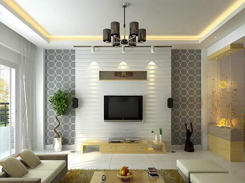 Contemporary Living Room Wallpaper New Modern Wallpaper Living Room 16 Picture Enhancedhomes