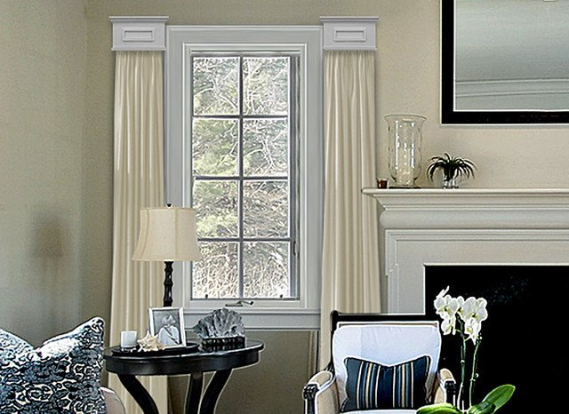 Contemporary Living Room Window Treatments Awesome Cornice Window Treatments