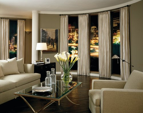 Contemporary Living Room Window Treatments Awesome Current Trends In Window Treatments Home Interior Design Ideas