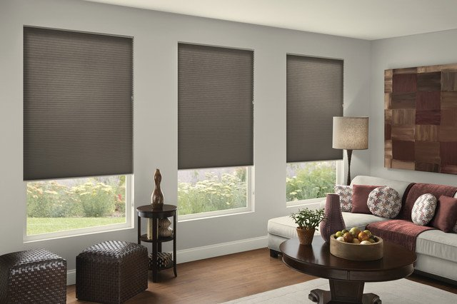 Contemporary Living Room Window Treatments Awesome Gray Doesn T Have to Be Drab Contemporary Living Room Burlington by