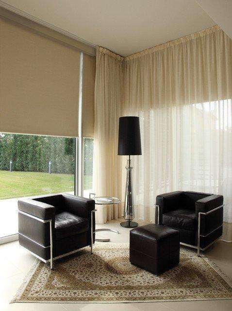 Contemporary Living Room Window Treatments Awesome Window Treatments Modern Living Room Miami by Kathryn Interiors Inc