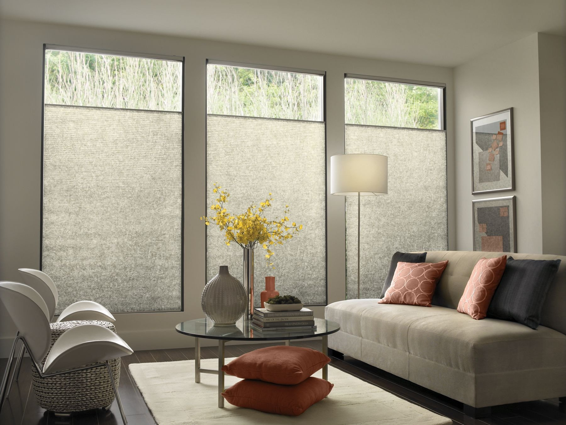 Contemporary Living Room Window Treatments Beautiful Modern Contemporary Window Treatments with Mid Century Modern sofa Contemporary Living