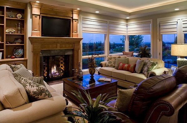 Contemporary Living Room Window Treatments Beautiful the 5 Things Every New Home Needs