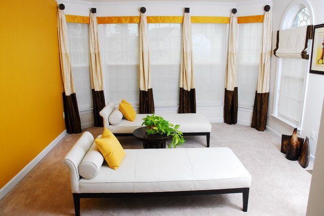 Contemporary Living Room Window Treatments Best Of Beautiful Window Treatments