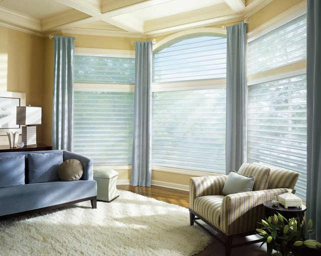 Contemporary Living Room Window Treatments Fresh Window Coverings
