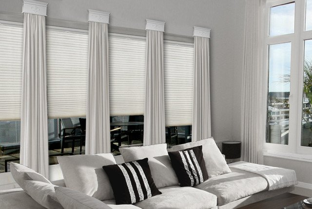 Contemporary Living Room Window Treatments Lovely Contemporary Cornice Window Treatments