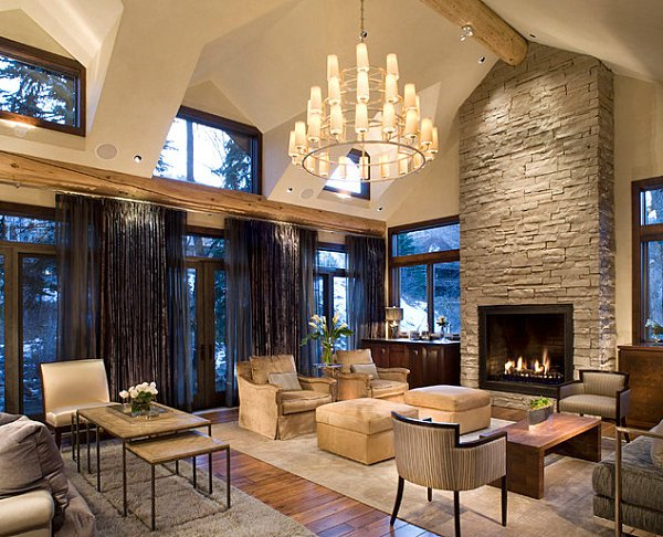 Contemporary Rustic Living Room Best Of Stone Fireplaces Add Warmth and Style to the Modern Home
