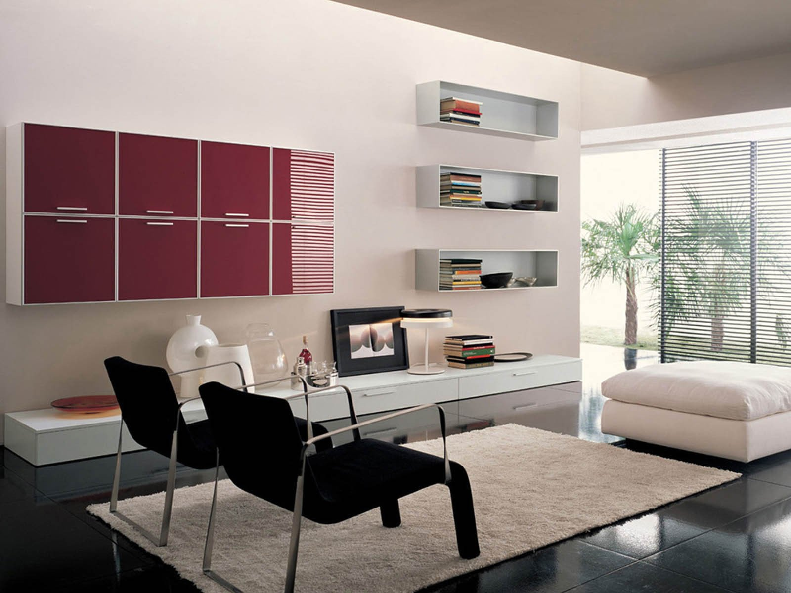 Contemporary Style Living Room Elegant Wallpapers Modern Living Room S