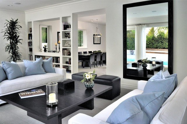 Contemporary Traditional Living Room Beautiful Beverly Hills Contemporary Traditional Living Room Los Angeles by Denise Foley Design Inc