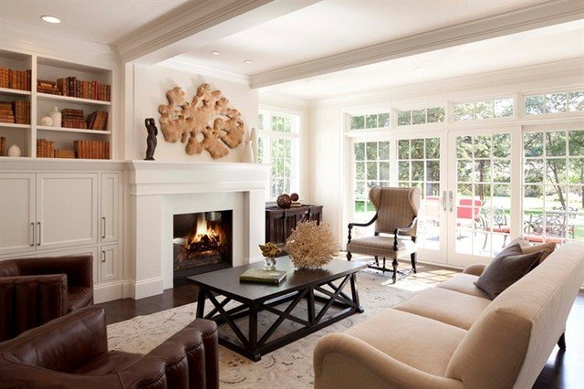 Contemporary Traditional Living Room New Contemporary Country Living Room Traditional Living Room Minneapolis by Historic Studio