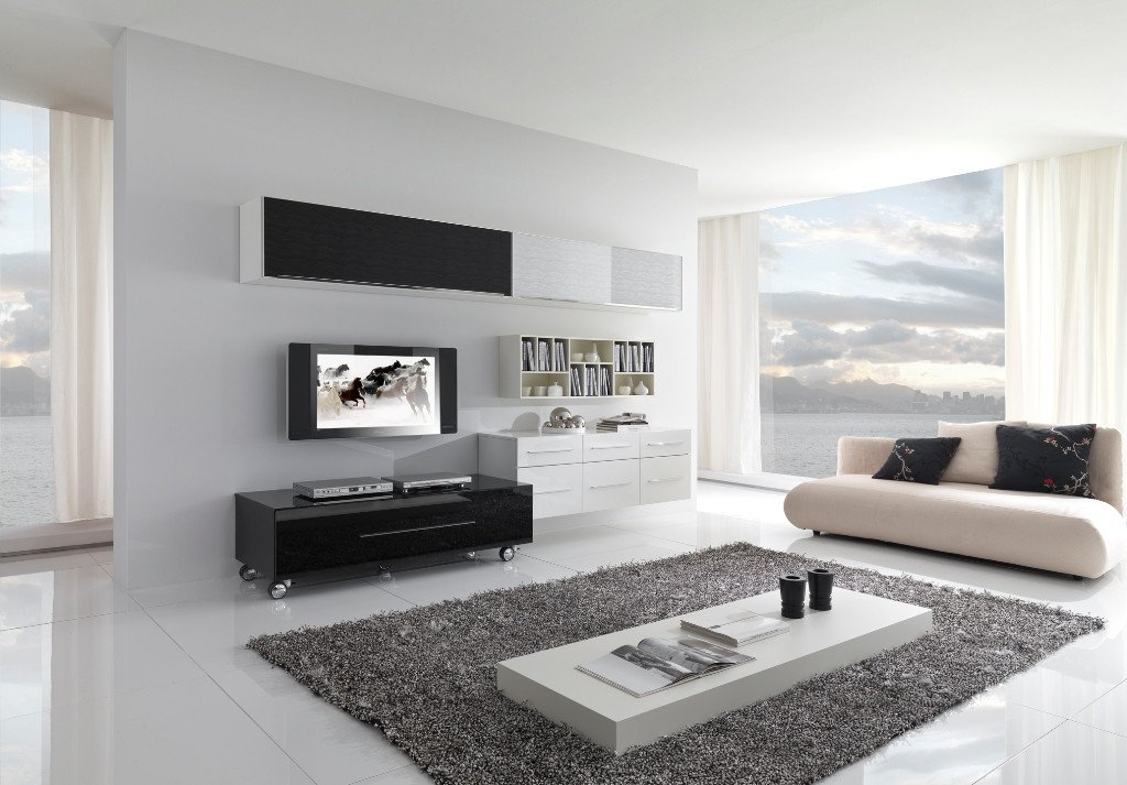 Contemporary White Living Room Beautiful Modern Black and White Furniture for Living Room From Giessegi Digsdigs