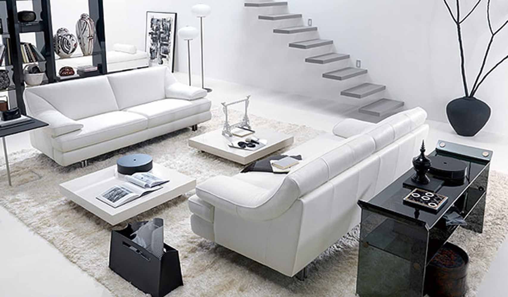 Contemporary White Living Room Best Of 17 Inspiring Wonderful Black and White Contemporary Interior Designs Homesthetics Inspiring