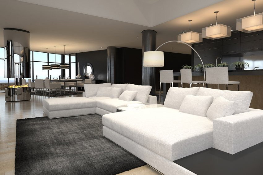 Contemporary White Living Room Best Of 60 Stunning Modern Living Room Ideas S Designing Idea