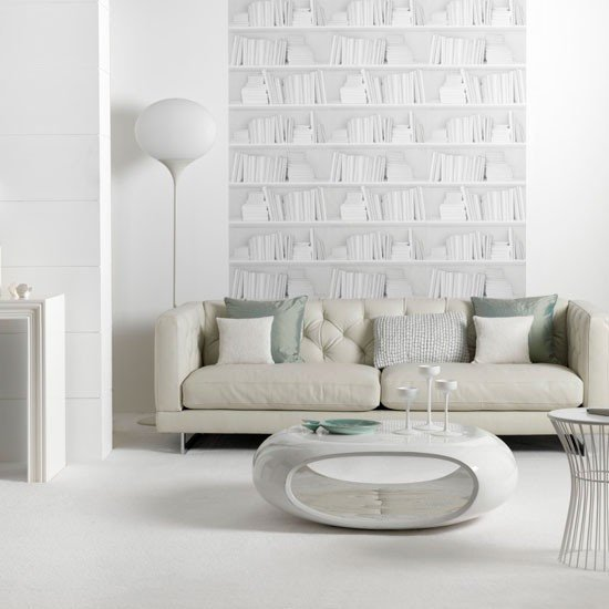 Contemporary White Living Room New Contemporary White Living Room Living Room Idea