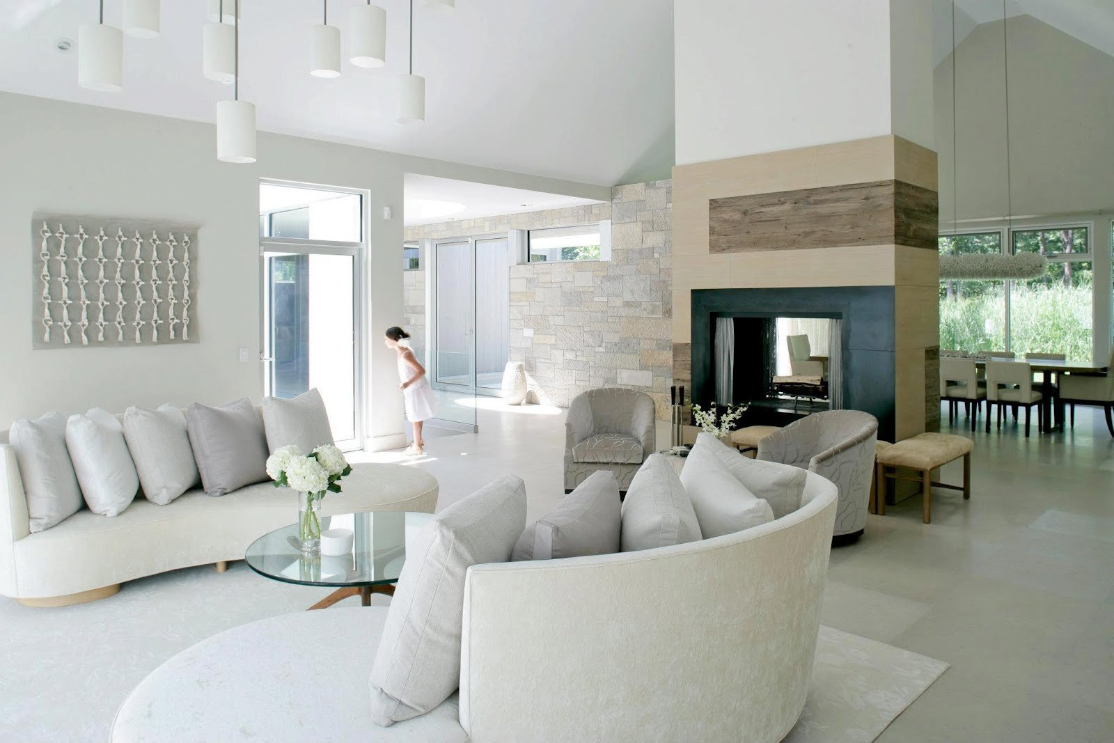 Contemporary White Living Room New Most Popular Living Room Designs for 2014 Qnud