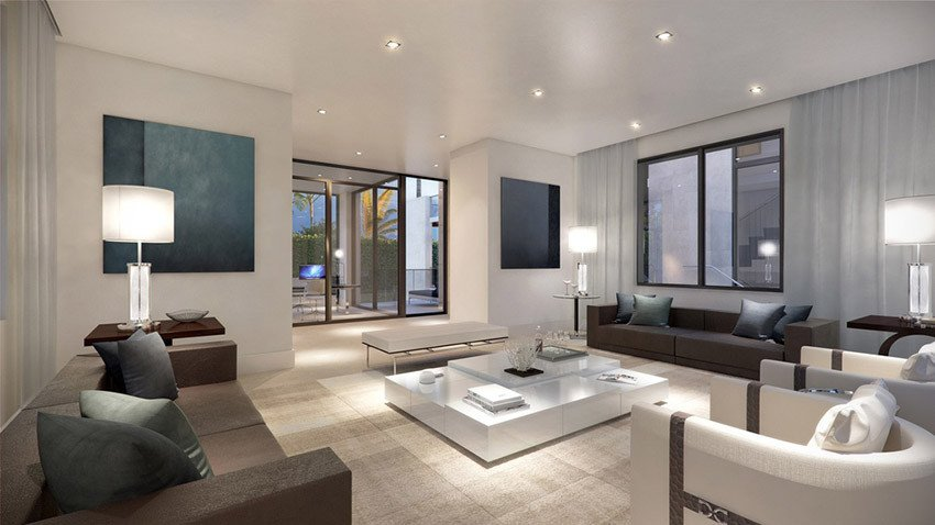 Contemporary White Living Room Unique 60 Stunning Modern Living Room Ideas S Designing Idea