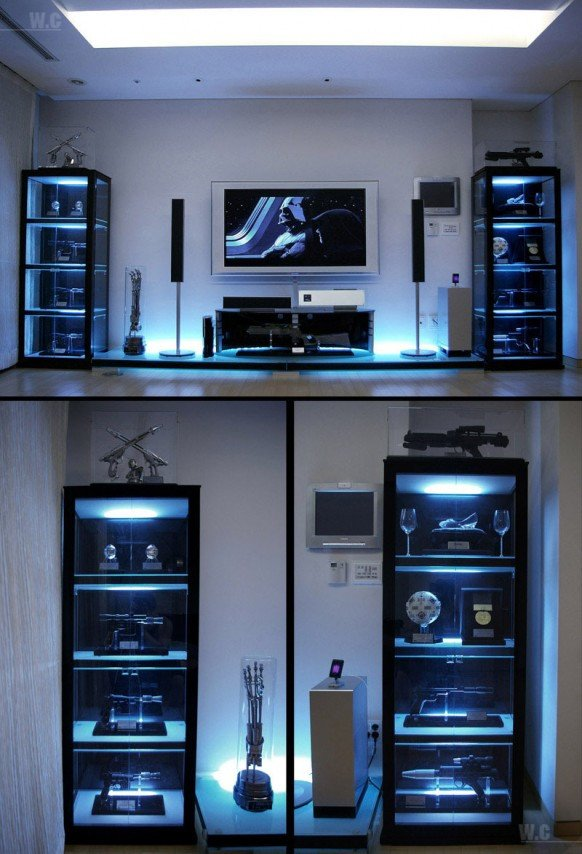 Cool Room Decor for Guys Awesome A Home Décor Star Wars Fans Would Be Proud Of