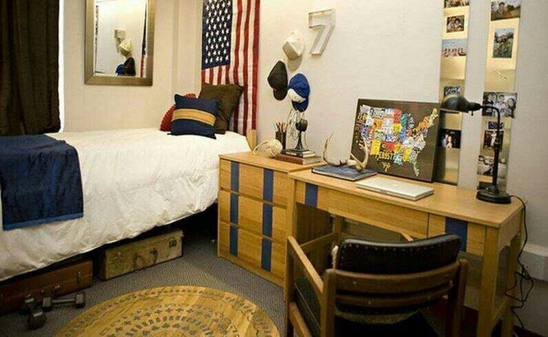 Cool Room Decor for Guys Beautiful 10 Guys Dorm Room Decor Ideas society19