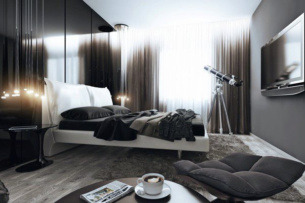 Cool Room Decor for Guys Best Of 60 Men S Bedroom Ideas Masculine Interior Design Inspiration