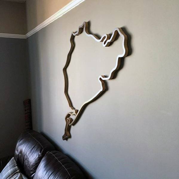 Cool Wall Decor for Guys Lovely 50 Bachelor Pad Wall Art Design Ideas for Men Cool Visual Decor