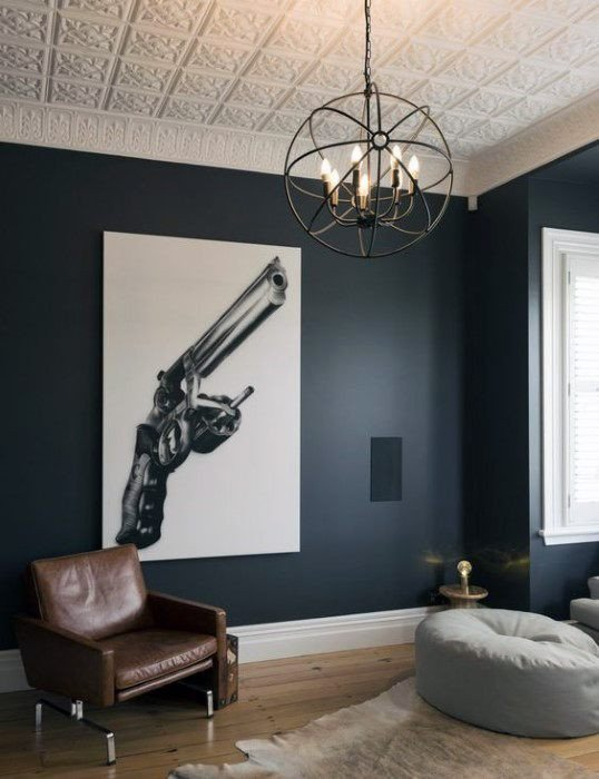 Cool Wall Decor for Guys New 50 Bachelor Pad Wall Art Design Ideas for Men Cool Visual Decor
