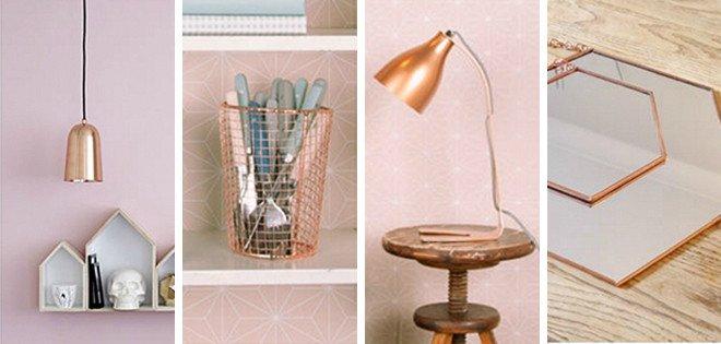 Copper Home Decor and Accessories Fresh Copper Table Decor