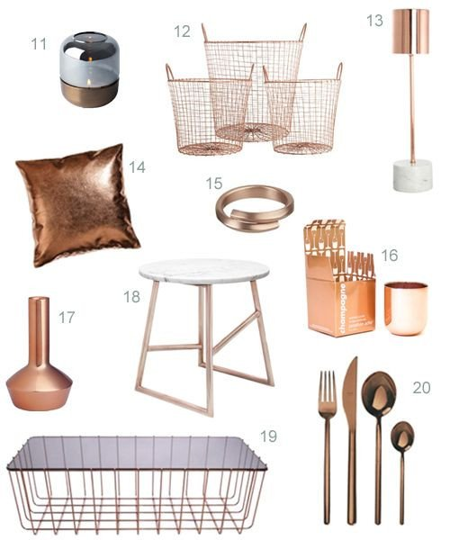 Copper Home Decor and Accessories New Best 25 Copper Home Accessories Ideas On Pinterest