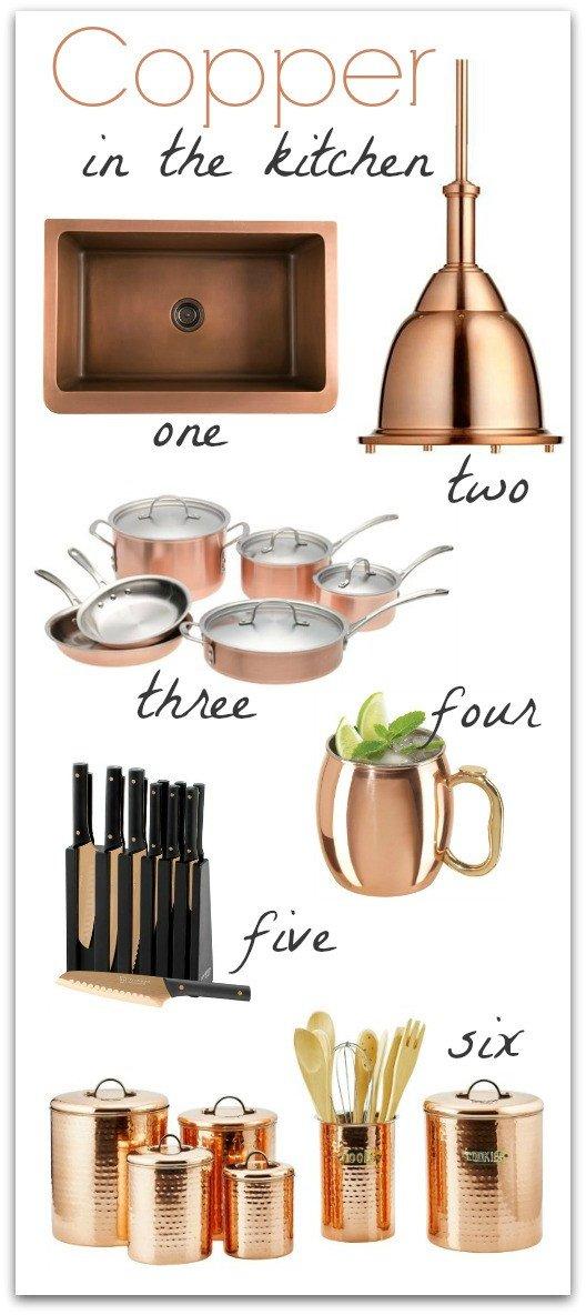 Copper Home Decor and Accessories Unique Copper In the Kitchen