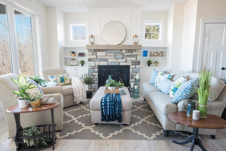 Cottage Living Room Ideas Best Of Traditional Coastal Cottage Living Room Reveal – Mom's Lake House