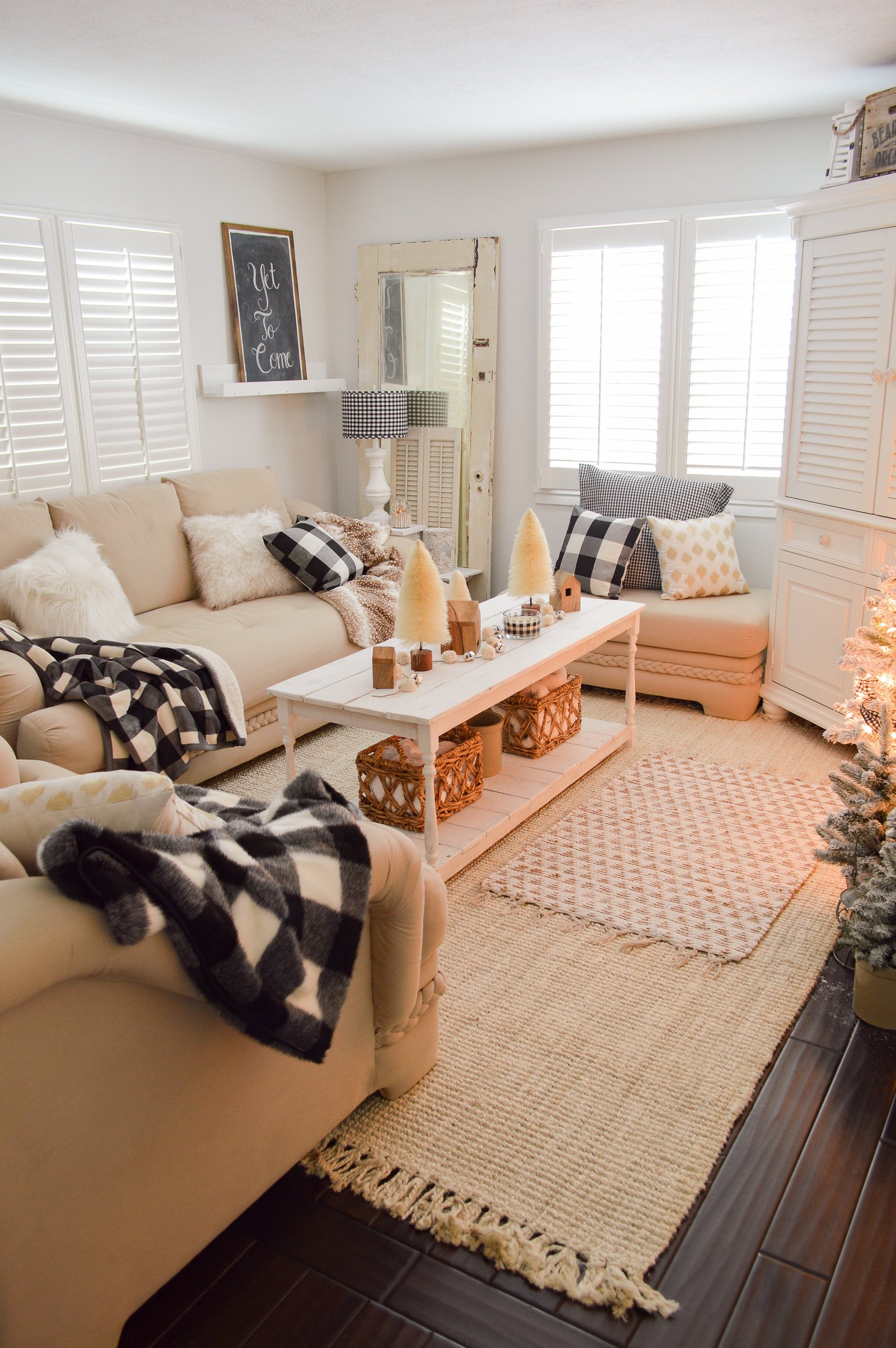 Cottage Living Room Ideas Lovely Cozy Cottage Winter Living Room Decorating Ideas Fox Hollow Cottage