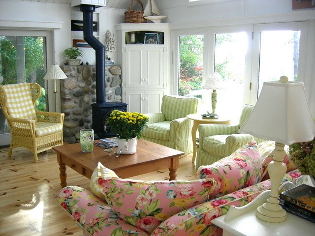 Cottage Traditional Living Room Awesome Scandinavian Country Cottage