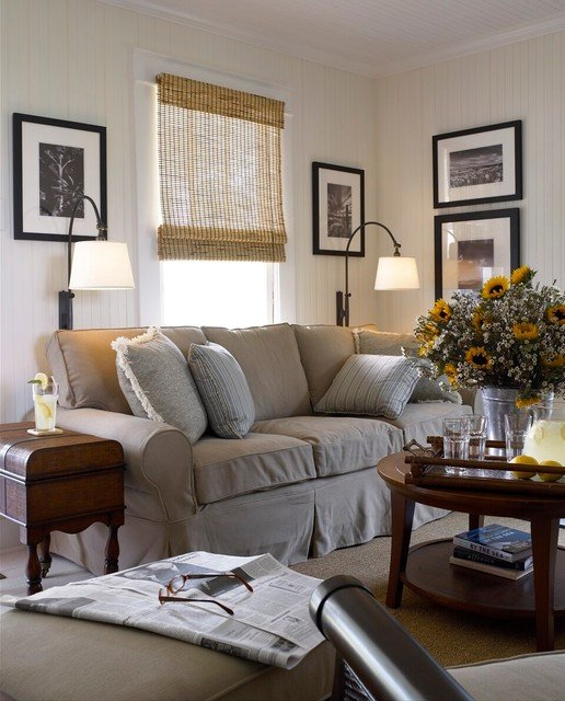 Cottage Traditional Living Room Elegant Coastal Cottage Traditional Living Room Wilmington by Austin Rese Llc