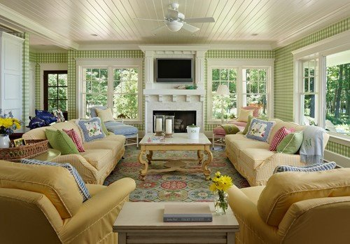Cottage Traditional Living Room Fresh A Joyful Cottage 35 Cottage Style Living Rooms that Inspire
