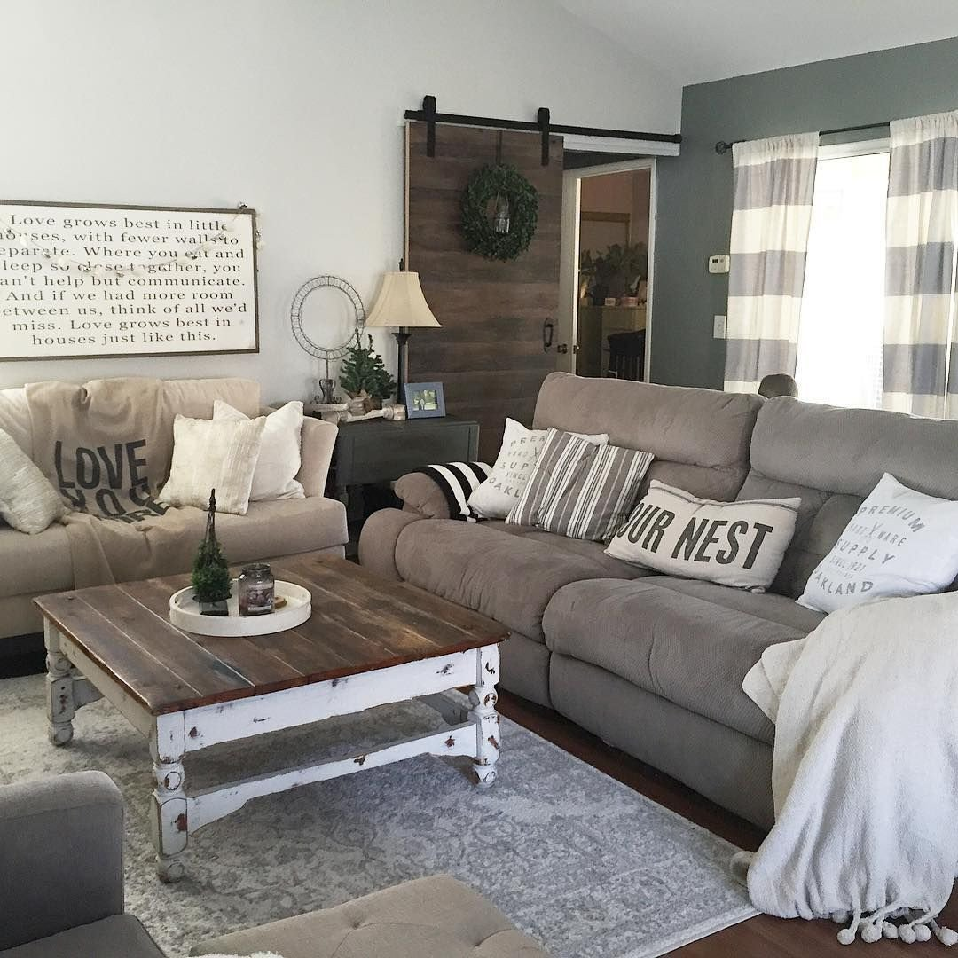 Country Chic Living Room Decor Beautiful This Country Chic Living Room is Everything Rachel Bousquet Has Us Swooning