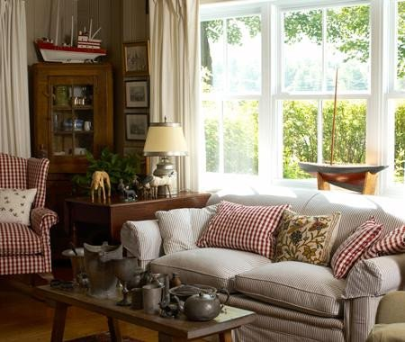 "Country Chic Living Room Decor Fresh A Potpourri Of ""cottage Style"" Living Rooms"