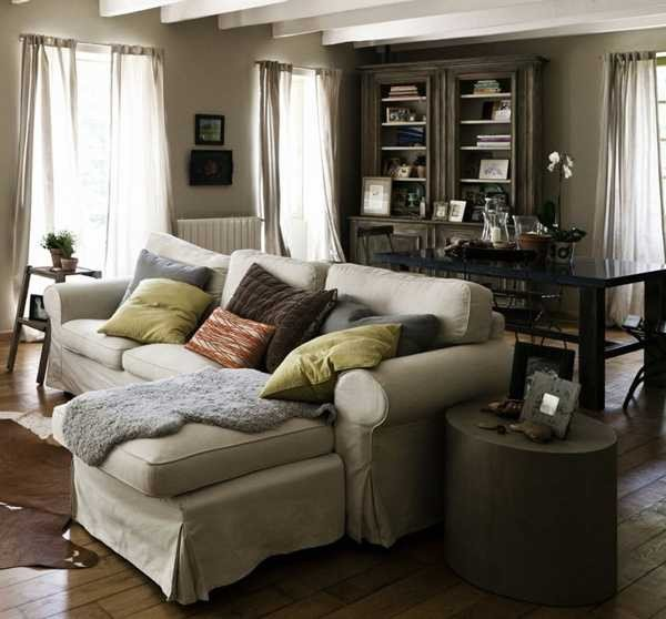 Country Chic Living Room Decor Lovely Country Style Decor Ideas Mixing Modern fort and Unique Vintage Accents