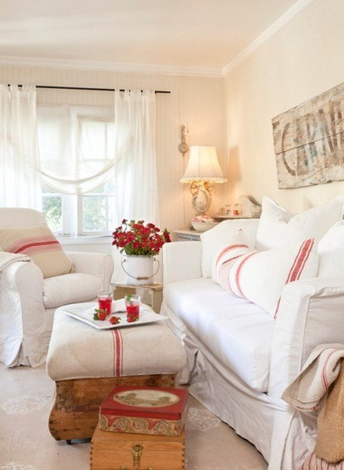 Country Chic Living Room Decor Lovely Vintage Cottage Charming Home Series town & Country Living
