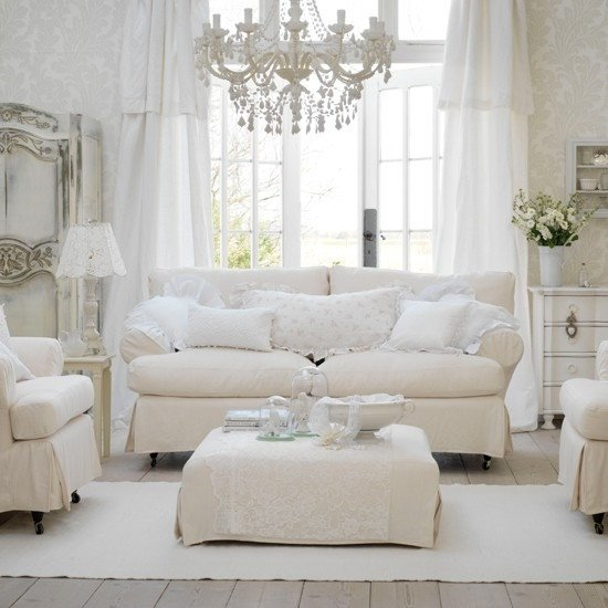 Country Chic Living Room Decor Luxury Modern Day Shabby Chic – Sheri Martin Interiors