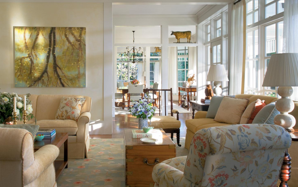 Country Comfortable Living Room Luxury Hamptons Country Home Home Bunch Interior Design Ideas