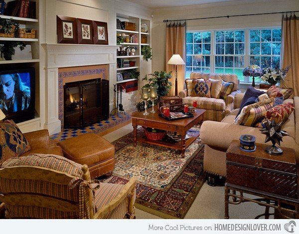 Country Comfortable Living Room Unique 15 Warm and Cozy Country Inspired Living Room Design Ideas Living Room and Decorating