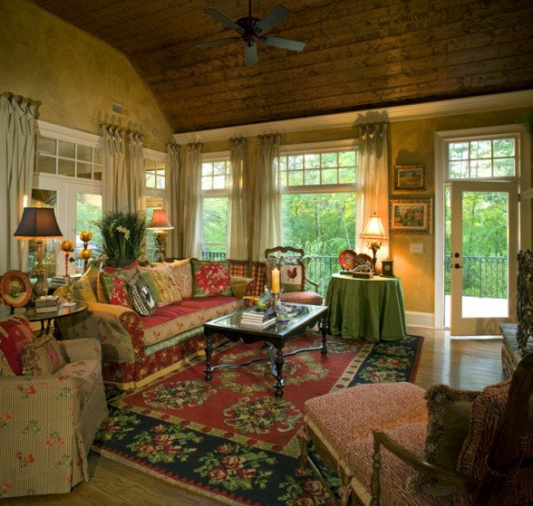Country Comfortable Living Room Unique the Inspired Nest Design Inspiration Cynthia Aiken